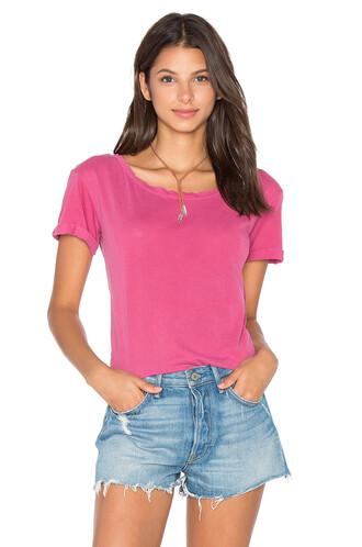 vintage pink top