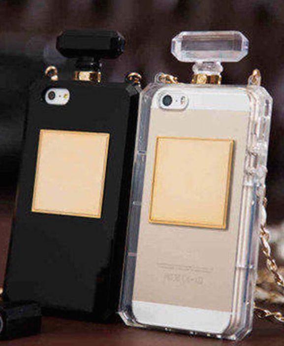 Perfume bottle Handbag Iphone Phone case