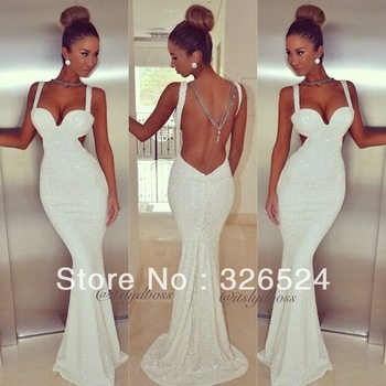 Aliexpress.com : Buy Free Shipping Custom Ivory One Shoulder Appliques Brush Train Satin Wedding Guest Dresses Mermaid Long Prom Dress from Reliable dress fashion -winter suppliers on Dress Just  For You.