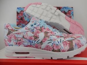 2e8b77744f ... aliexpress nike air max 1 ultra lotc qs paris city pack ice blue sz 8  floral