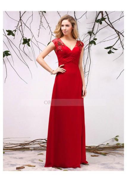 dress, red dress, red prom dress, red carpet dress, long red dress ...