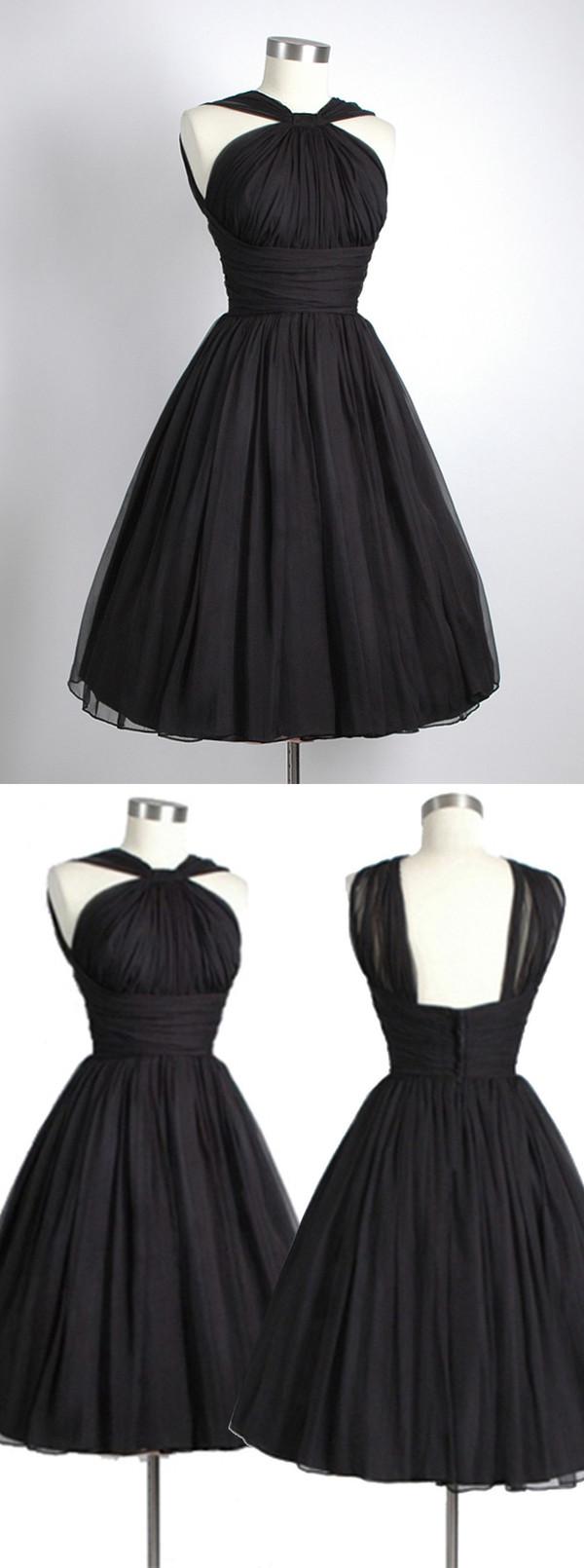 dress little black dress 2016 homecoming dress vintage homecoming dress party dress black homecoming dress