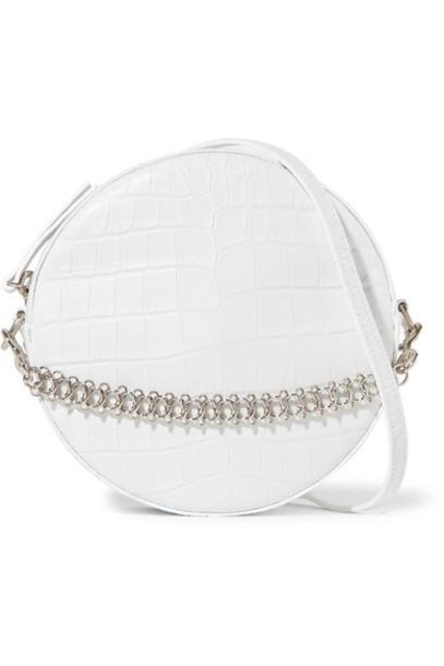 Little Liffner bag shoulder bag leather white
