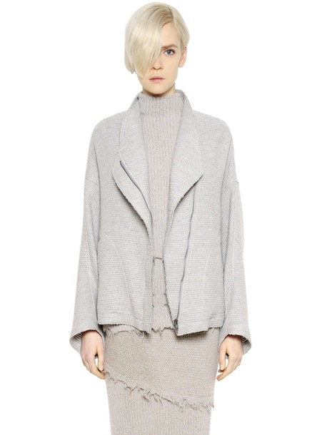 Damir Doma jacket wool grey