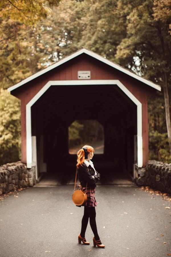 88d3e9ff83d the clothes blogger jacket dress shoes bag pumps round bag fall outfits