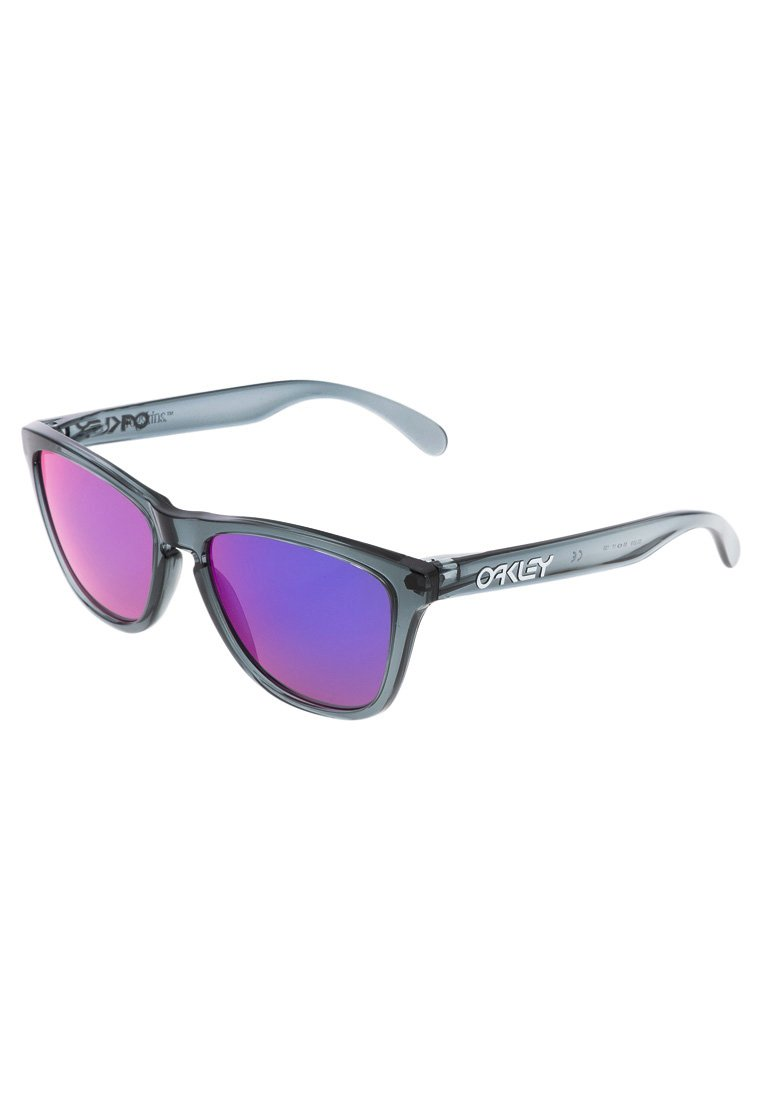 Oakley FROGSKINS - Sonnenbrille - crystal black/positive red iridium - Zalando.ch