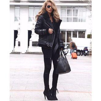 jeans maniere de voir zip cargo jeans cargo pants black jeans black pants shearling jacket nada adelle black shearling jacket