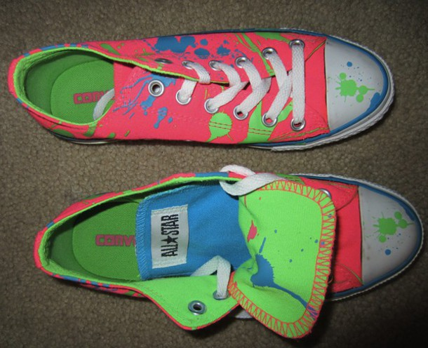 c941469feb1b splatter lovely all star squirt converse low top sneakers painting painted  sneakers painted shoes los angeles