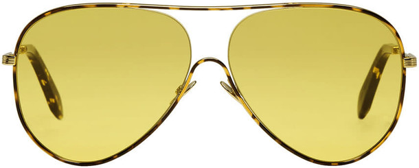 Victoria Beckham sunglasses aviator sunglasses