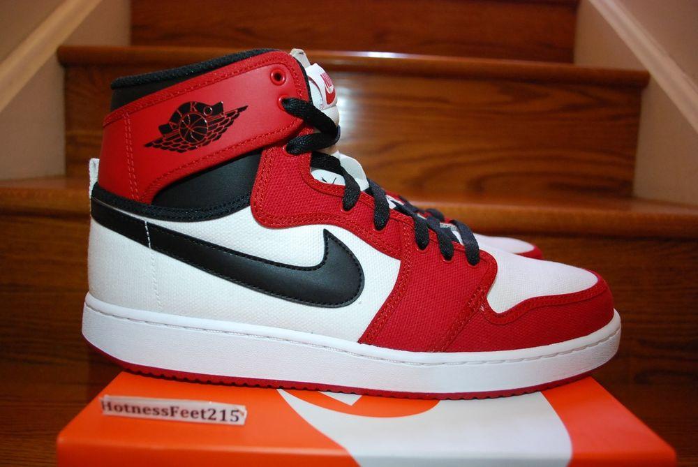 Nike Air Jordan 1 KO HIGH OG CHICAGO WHITE BLACK RED 638471-101 ajko SZ: 7.5-14