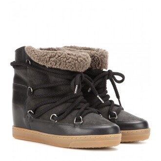 the fashion eaters blogger shoes winter boots isabel marant