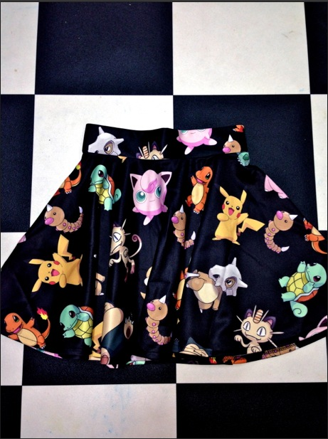 Sweet lord o'mighty! pokemon sk8r skirt