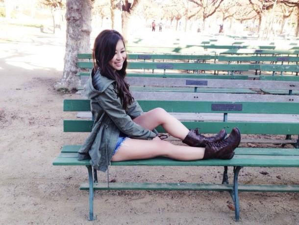 Becca green brown lace bikini