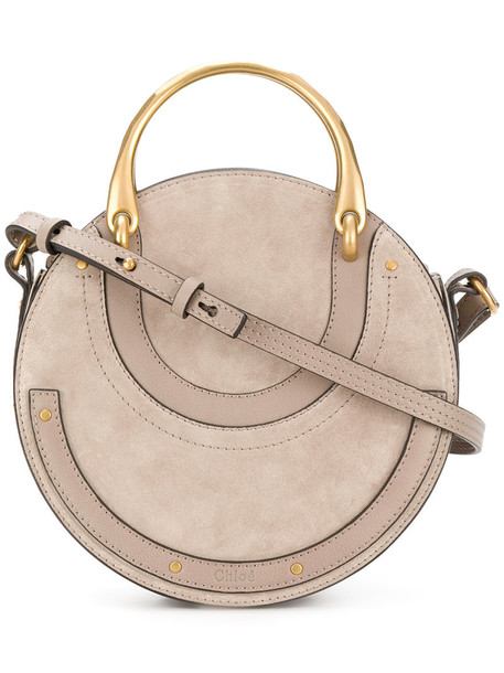 Chloe women bag shoulder bag leather nude