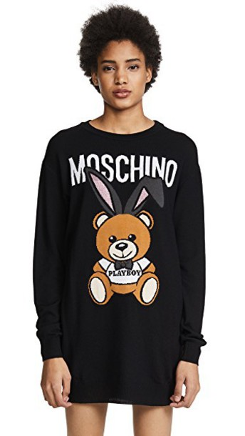 Moschino dress sweater dress black