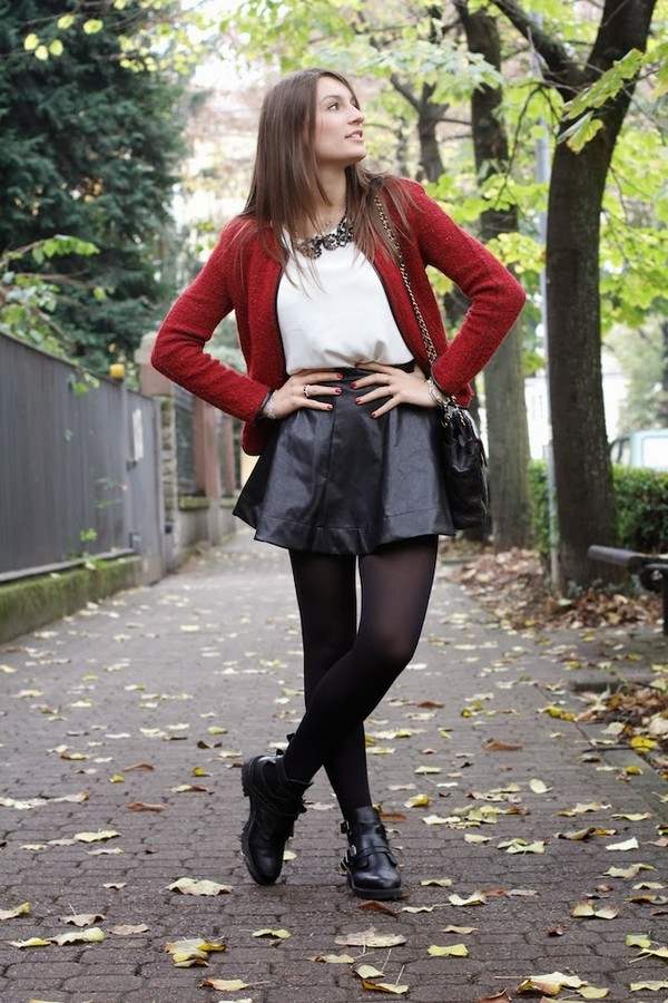 style and trouble skirt bag jacket shirt shoes jewels