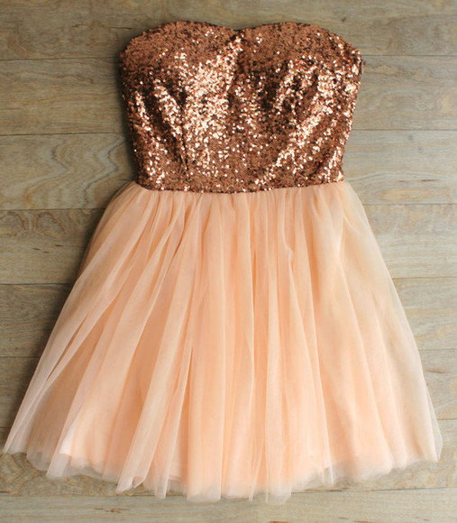 dress sequin dress party dress gold sequin dress sequin party dress rose gold dress