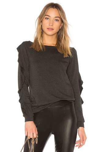 pullover charcoal sweater