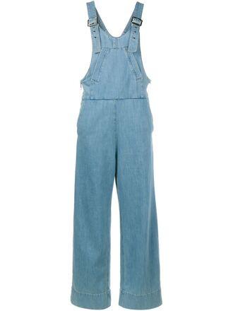 jumpsuit denim overalls