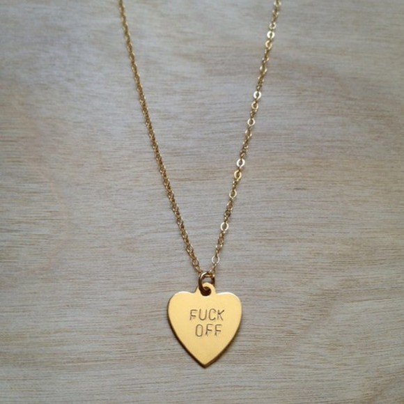 jewels jewelery gold heart neckless chain