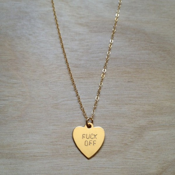 jewels necklace jewelery chain heart gold