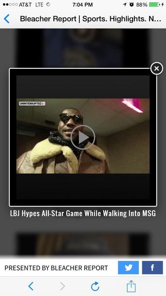 coat lebron james on all star gamee
