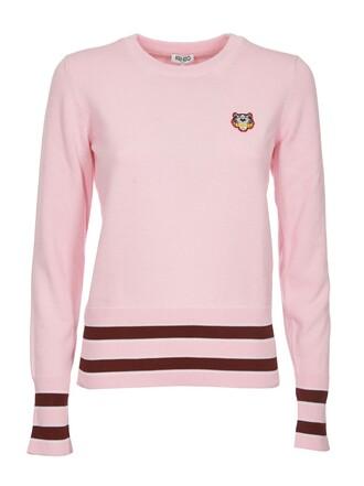 sweatshirt tiger knit rose sweater