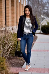 sensible stylista,blogger,shoes,jeans,bag,tank top,jacket,jewels
