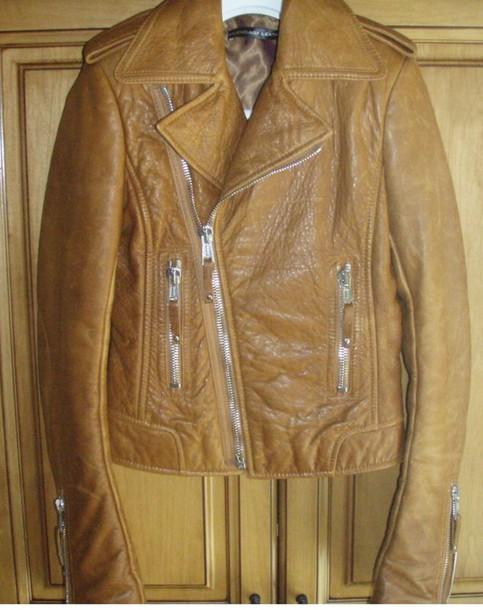 jacket 2007 balenciaga biscui leatherjacket!! hg!!