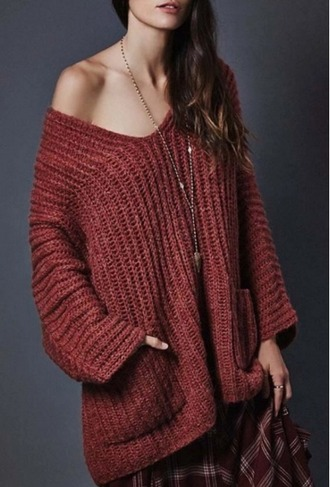 sweater girl girly girly wishlist knit knitwear knitted sweater fall colors off the shoulder off the shoulder sweater fall sweater