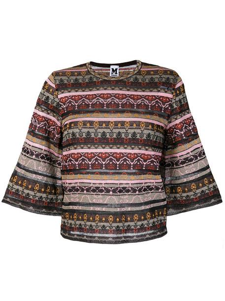jumper metallic women cotton sweater