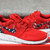 Free Shipping - Nike Roshe Run Red Marble American Flag Pride Print Custom