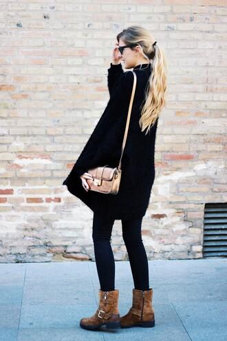 dear diary blogger cardigan sweater pants shoes bag
