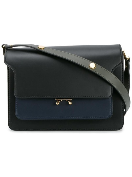 MARNI women bag shoulder bag leather black
