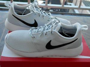 94b70d92a6c5 Nike Roshe Run Pure Platinum Black White New in Box! Authentic!