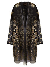 coat,embroidered,gold,black
