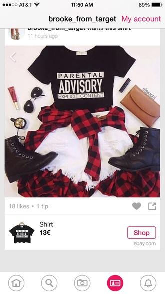 shoes shirt