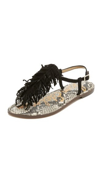sandals flat sandals black shoes