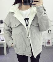 jacket,girly,grey,corduroy,fur,fur jacket,button up