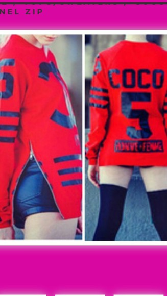 red sweater coco