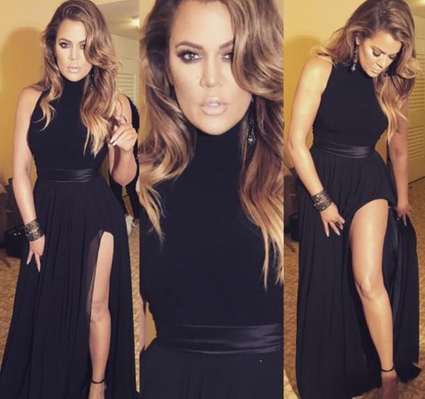 dress celebrity style khloe kardashian skirt
