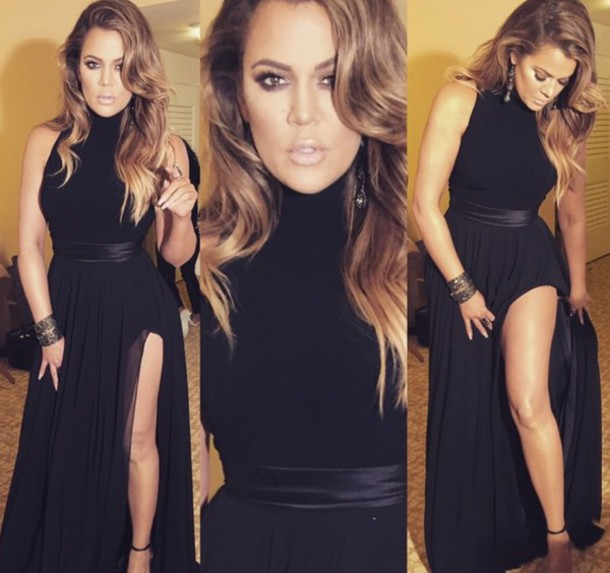 dress celebrity style khloe kardashian