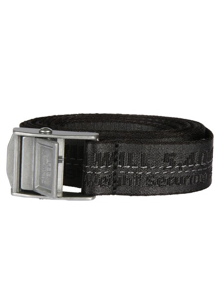 Off-White mini belt white black