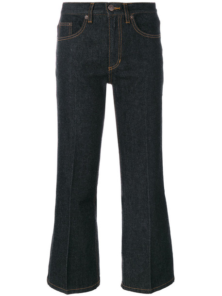 Marc Jacobs jeans cropped jeans cropped women cotton blue 24