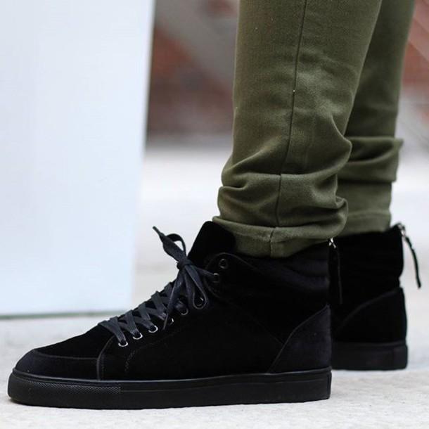 Mdv De shoes maniere de voir mdv trainers sneakers black velvet