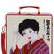 Kimono lady 7 inch lunchbox clutch
