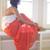 Maxi Skirt- Orange | Obsezz