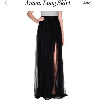 skirt maxi skirt maxi skirt with slits