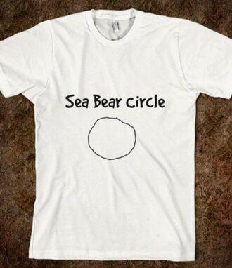 t-shirt seabear spongebob cartoon