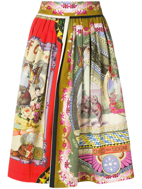 ETRO skirt midi skirt women midi cotton